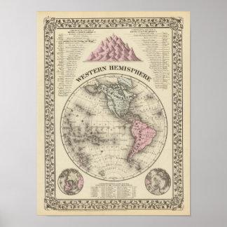 Western Hemisphere 16 Poster