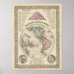 Western Hemisphere 16 Posters