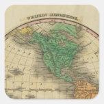 Western Hemisphere 16 Sticker