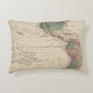 Western Hemisphere 2 Accent Pillow