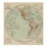 Western Hemisphere 3 Posters