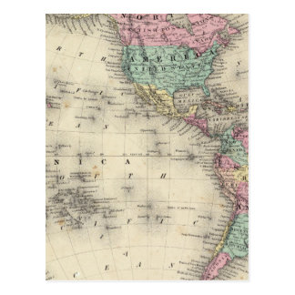 Western Hemisphere 4 Postcard