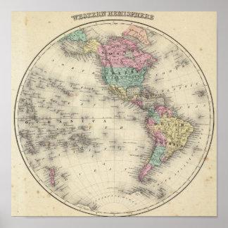 Western Hemisphere 4 Poster