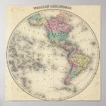 Western Hemisphere 4 Posters