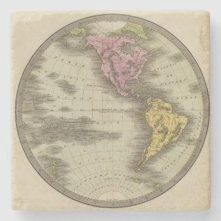 Western Hemisphere 4 Stone Coaster