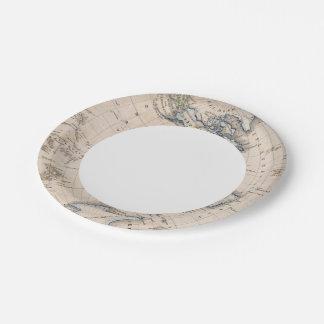 Western Hemisphere 6 Paper Plate