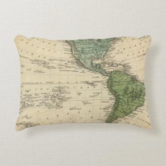 Western Hemisphere 7 Accent Pillow