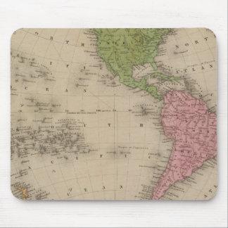 Western Hemisphere 9 Mousepad