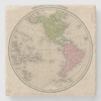 Western Hemisphere 9 Stone Coaster