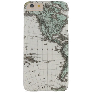 Western Hemisphere Atlas Map Barely There iPhone 6 Plus Case
