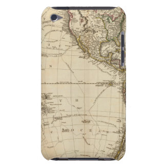 Western Hemisphere Circular Map Barely There iPod Cover