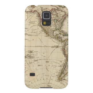 Western Hemisphere Circular Map Case For Galaxy S5