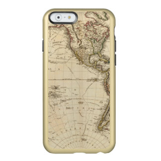 Western Hemisphere Circular Map Incipio Feather® Shine iPhone 6 Case