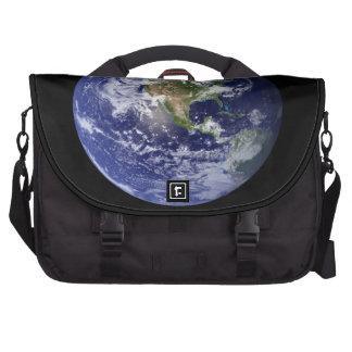 Western Hemisphere Globe Laptop Messenger Bag