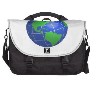 Western Hemisphere Globe Computer Bag