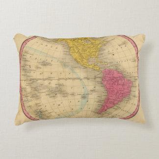 Western Hemisphere Accent Pillow