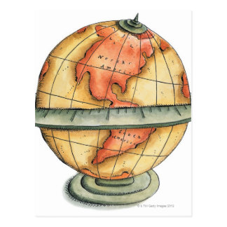 Western Hemisphere Postcard