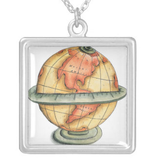 Western Hemisphere Silver Plated Necklace