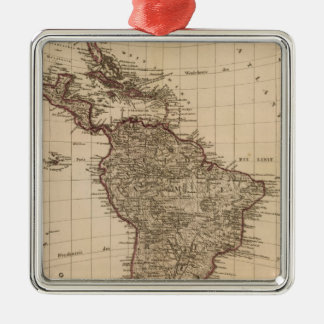 Western Hemisphere, South America Metal Ornament