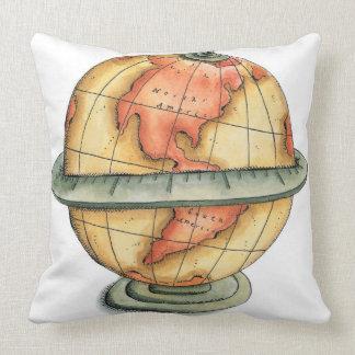 Western Hemisphere Throw Pillow