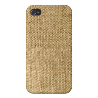 Western Hessian Sacking Texture iPhone Case