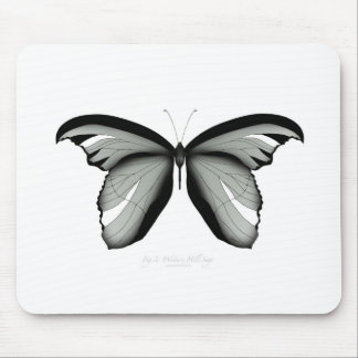 Western Hill Sage Butterfly Mouse Pad