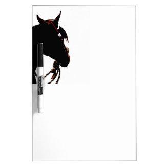 Western Horse Dry Erase Board