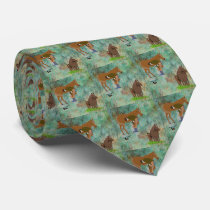Western Horse Farrier With Horses Neck Tie