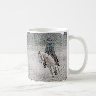 Western Horse mug - buckskin
