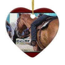Western Horse Ornament