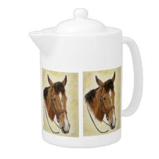 Western Horse Teapot