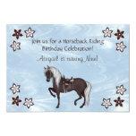 Western Horseback Riding Birthday Invitation