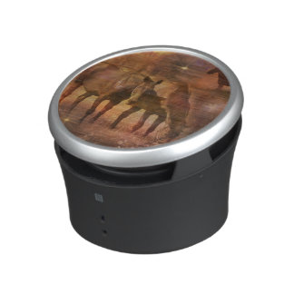 Western Horses Grazing Bluetooth Speaker