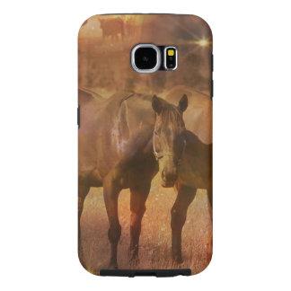 Western Horses Grazing Samsung Galaxy S6 Case