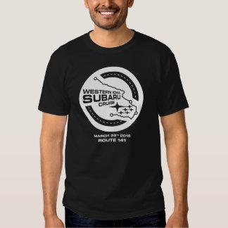 Western Iowa Subaru Cruise (Dark) T Shirt