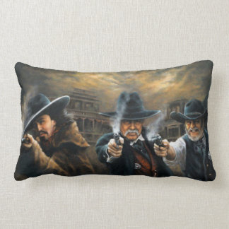 Western Justice Pillow