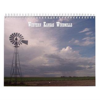 Western Kansas Windmills 2012-2013 Calendar