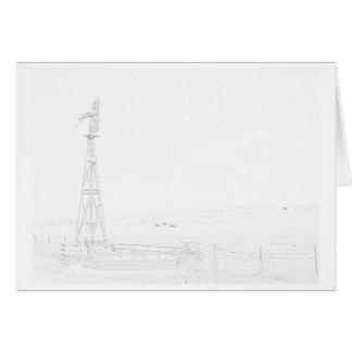 Western Kansas Windmills Series Card