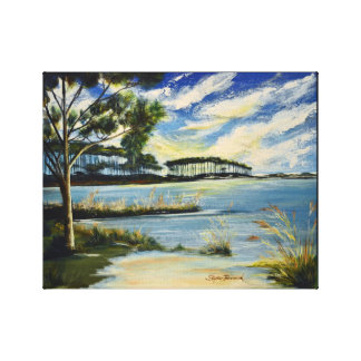Western Lake 30A Canvas Print