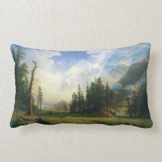 Western landscape Pillow