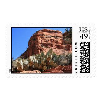 Western Landscape Stamp