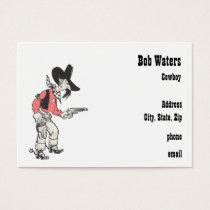 western Lawman Business Card