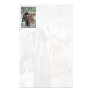 Western Leather Chaps Stationery