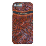 western leather look iPhone 6 case