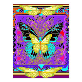 western  Lemon Butterflies Morphing  by Sharles Postcard