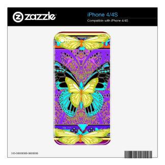 western  Lemon Butterflies Morphing  by Sharles Skins For iPhone 4S