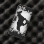 Western-look Galloping Horse Silhouette Tough iPhone 6 Case