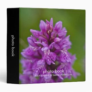 Western Marsh Orchid Photo Book Binder