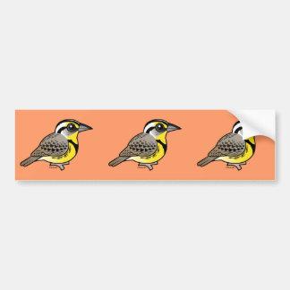 Western Meadowlark Bumper Sticker