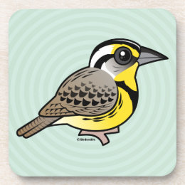 Western Meadowlark Drink Coaster